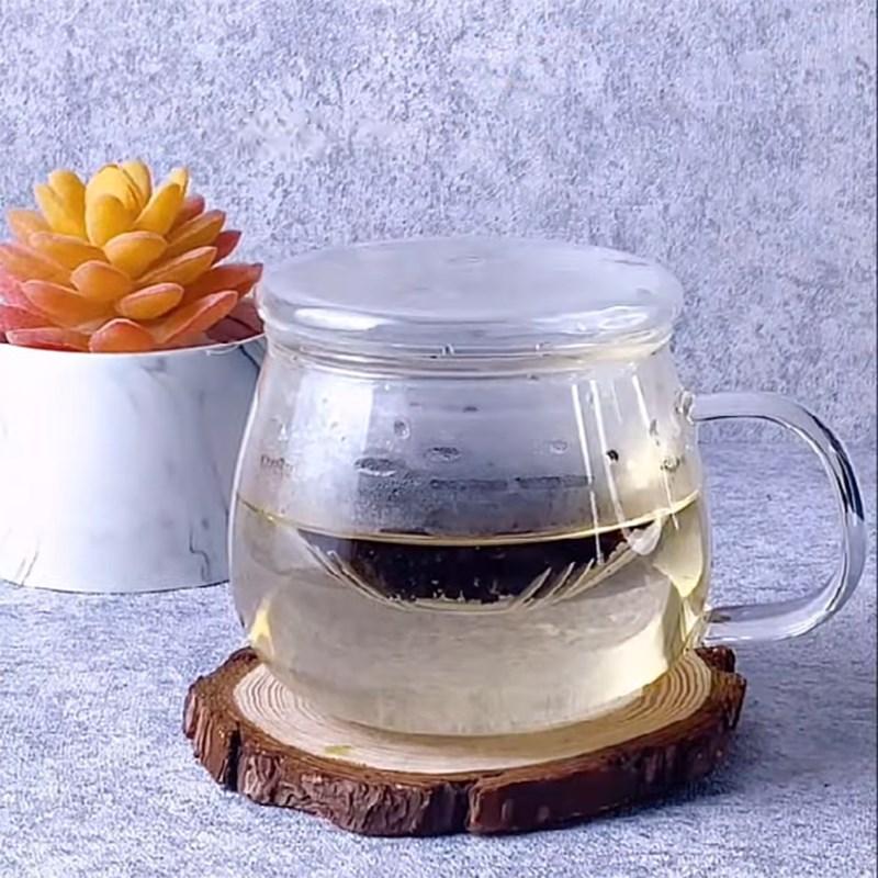 Cách làm trà sữa việt quất 3