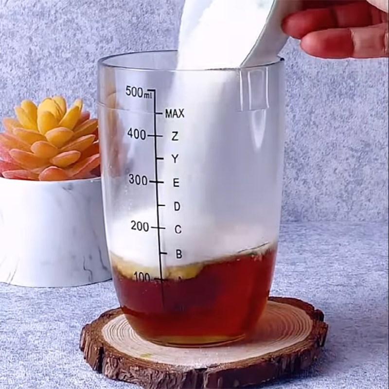 Cách làm trà sữa việt quất 4