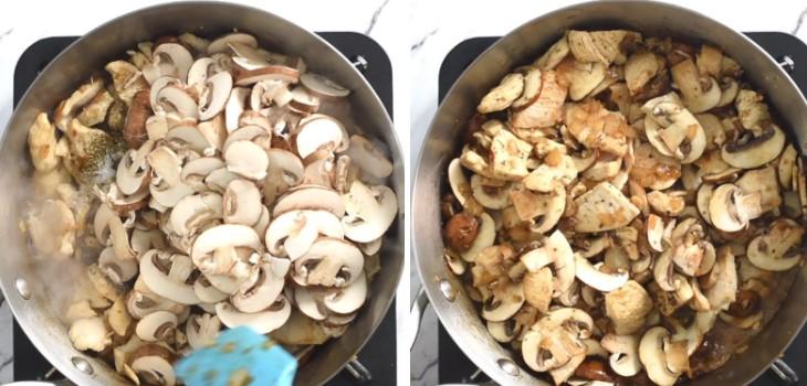 cách nấu súp kem thịt gà 3