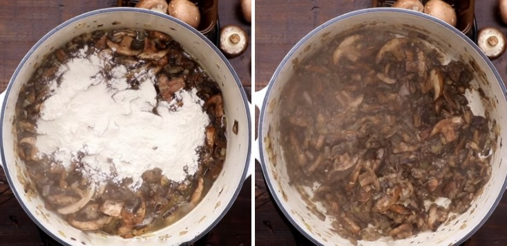 cách nấu súp nấm kem truyền thống 4