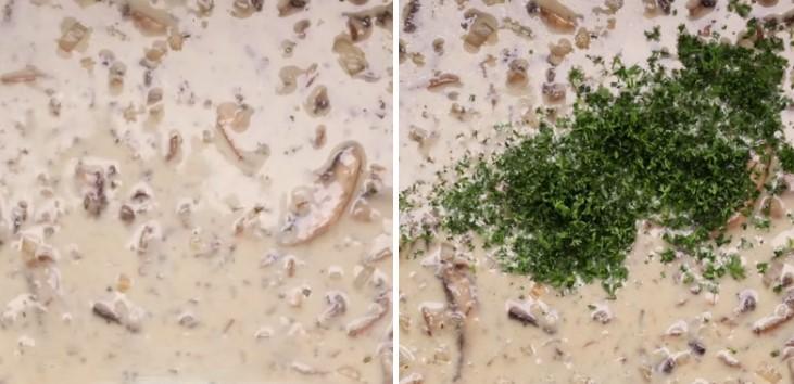 cách nấu súp nấm kem truyền thống 6
