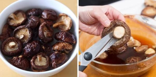 cách nấu súp bào ngư nấm hương khô 3