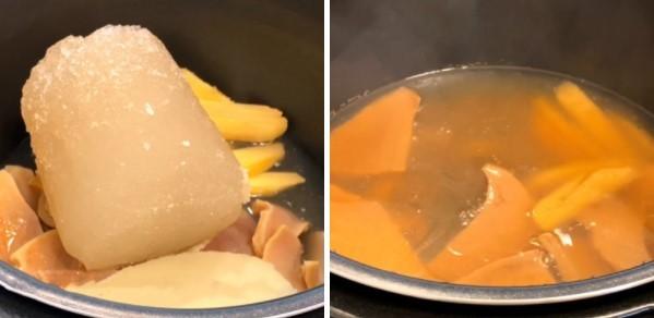 cách nấu súp bào ngư nấm hương khô 4