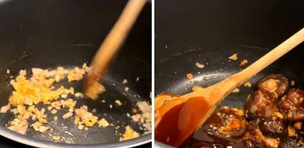 cách nấu súp bào ngư nấm hương khô 5