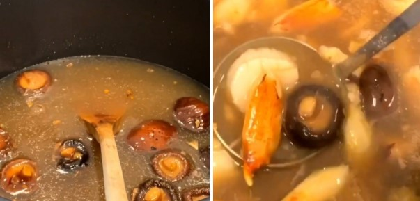 cách nấu súp bào ngư nấm hương khô 6