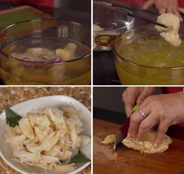 cách nấu súp bào ngư cua 2