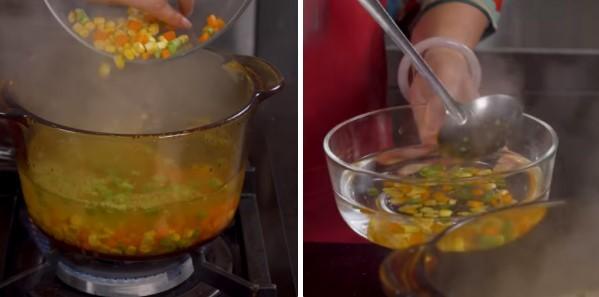 cách nấu súp bào ngư cua 6
