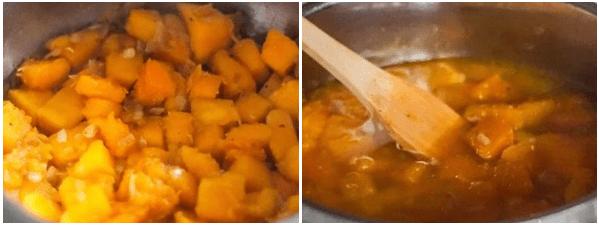 cách nấu súp bí đỏ kem tươi 2
