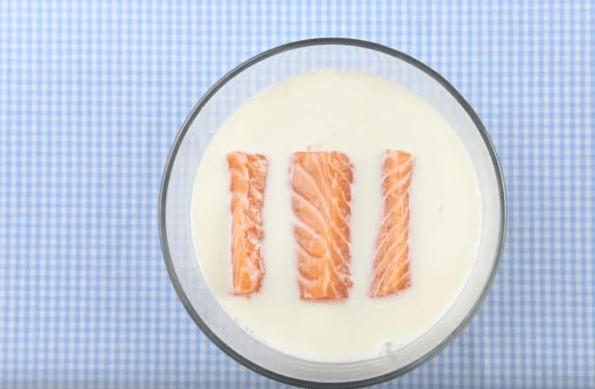 cách nấu súp bí đỏ cá hồi 1
