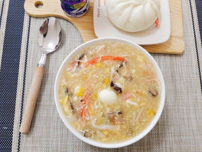 cách nấu súp ghẹ 1