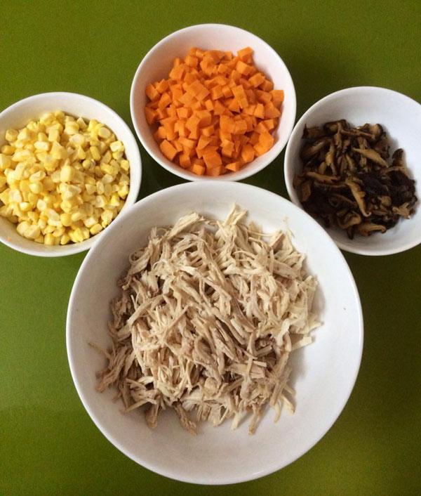 cách nấu súp ghẹ 3