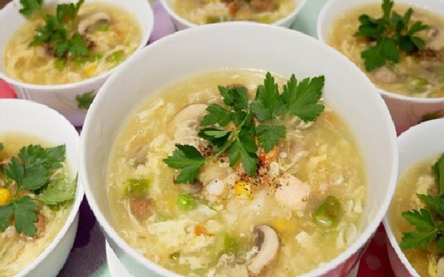 cách nấu súp hải sản 1