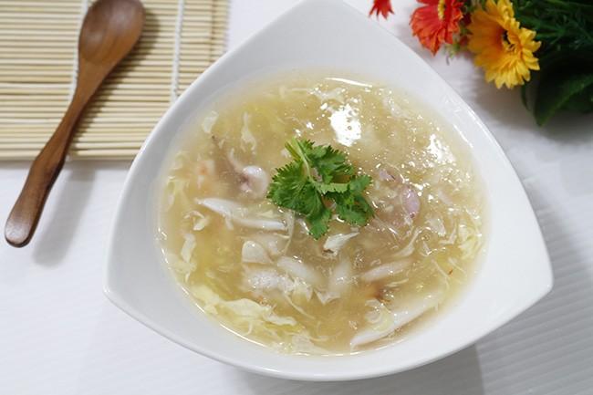 cách nấu súp hải sản 7