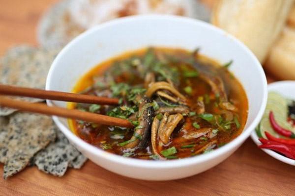 cách nấu súp lươn 1