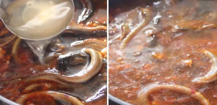 cách nấu súp lươn 10