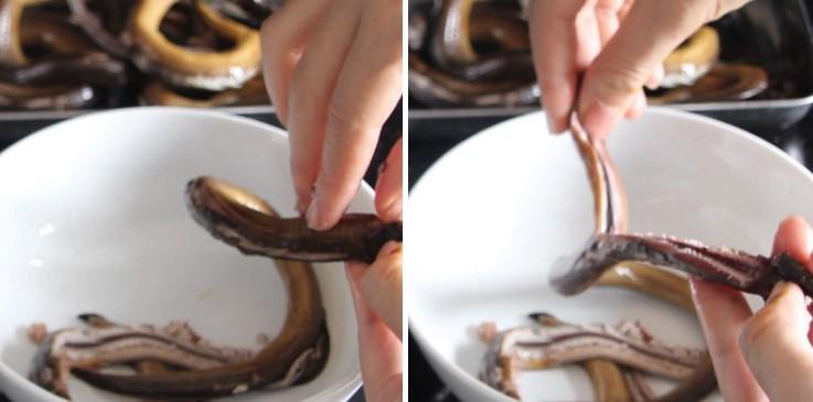cách nấu súp lươn 4