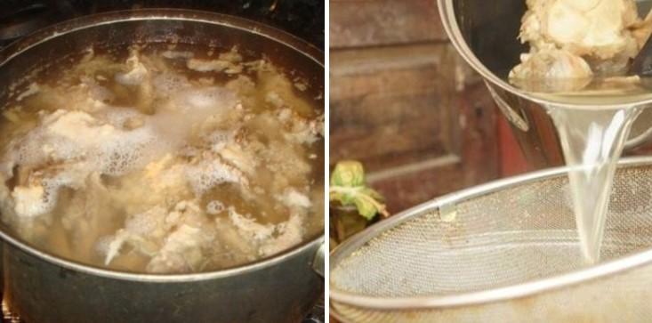 cách nấu súp lươn 7