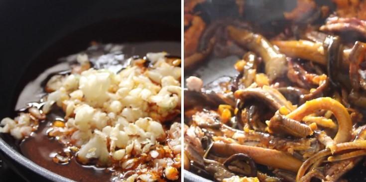 cách nấu súp lươn 9