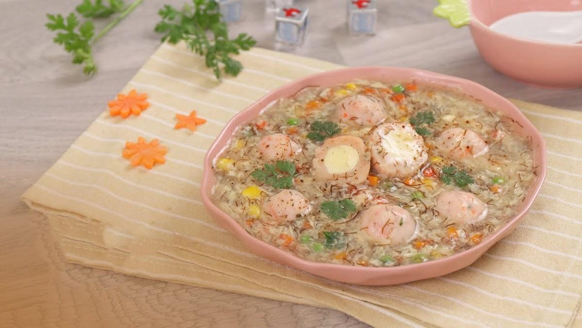 cách nấu súp rau củ phô mai 6