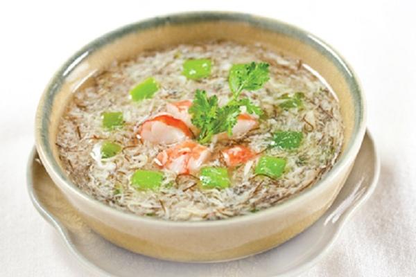cách nấu súp tôm nấm hương 3