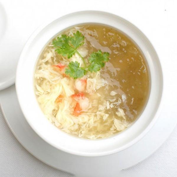 cách nấu súp yến cua 3