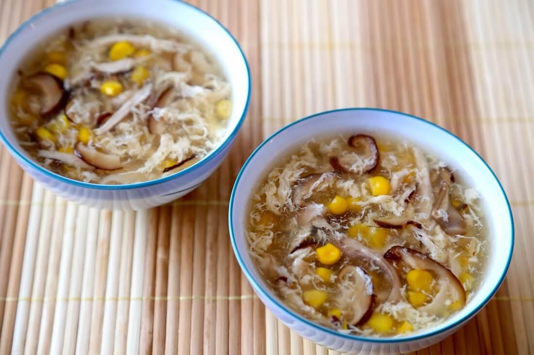 cách nấu súp yến nấm 4