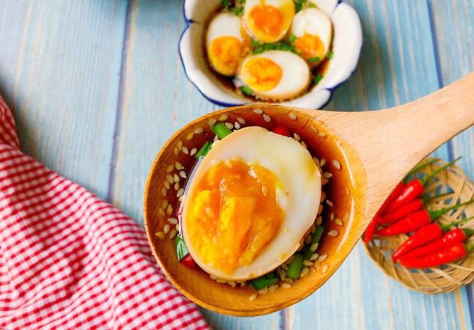 Trứng ngâm tương 1