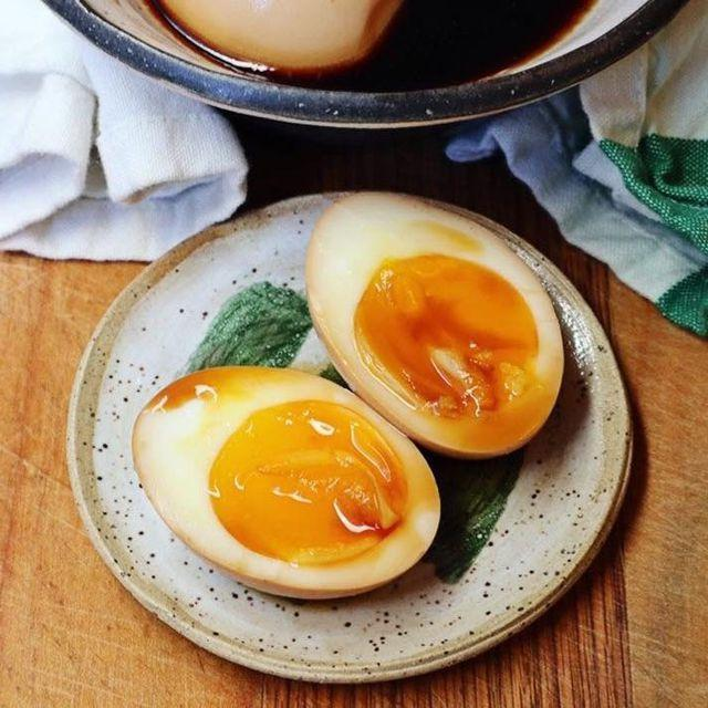 Trứng ngâm tương 7